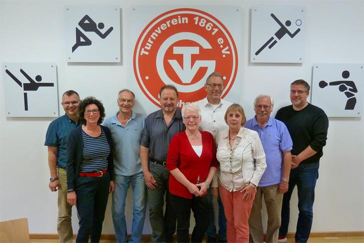 Der Vorstand - Gesamtverein - Turnverein 1861 e  V  Gelnhausen